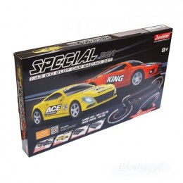 Zestaw Slot Cars Superior 201 1:43 - 420cm, ósemka, most