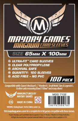 MAYDAY Koszulki Magnum Copper (65x100mm) 100 - Brown (Brązowe)
