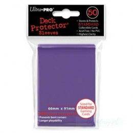 ULTRA-PRO Deck Protector - Solid Purple (Fioletowe) 50