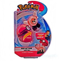 Pokemon Stufful Poke Ball Pop Action Figurka