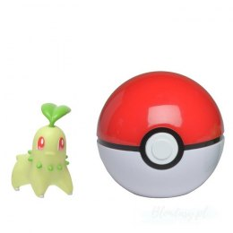 Pokemon Clip'N'Go Pokeball Chikorita + Poke Ball