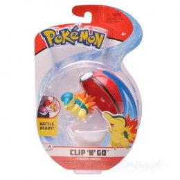 Pokemon Clip'N'Go Pokeball Cyndaquil + Poke Ball