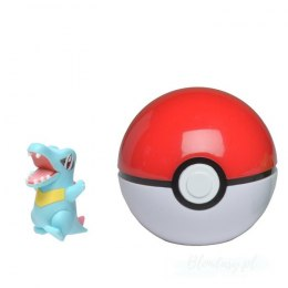 Pokemon Clip'N'Go Pokeball Totodile + Poke Ball