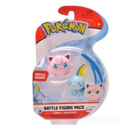 Pokemon Figurka Sobble + Jigglypuff Battle 2-cale 3-cale