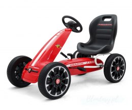 Gokart na pedały Abarth Red