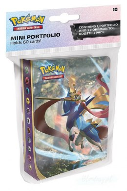 Pokemon TCG: Sword and Shield - Mini Album na 60 kart + booster