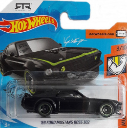 FORD MUSTANG BOSS 302 MUSCLE MANIA HOT WHEELS