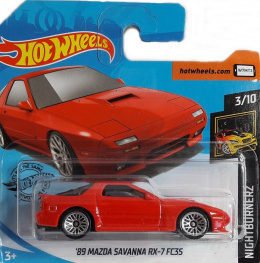 MAZDA 89 SAVANNA RX-7 FC3S NIGHTBURNERZ HOT WHEELS