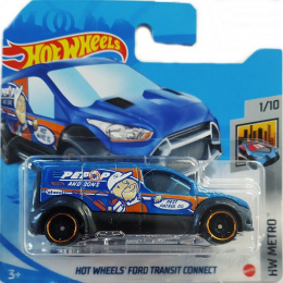 Hot Wheels Ford Transit Connect HW Metro