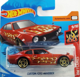 Custom Ford Maverick HW Flames Hot Wheels