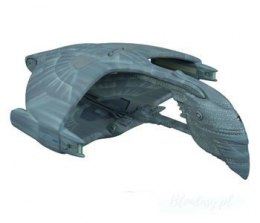 Model Plastikowy Do Sklejania AMT (USA) - Star Trek Romulan Warbird