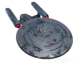 Model Plastikowy Do Sklejania AMT (USA) - Star Trek U.S.S. Enterprise NCC-1701C