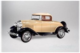 Model Plastikowy Do Sklejania Lindberg (USA) - 1932 Ford B Roadster