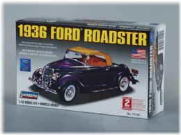 Model Plastikowy Do Sklejania Lindberg (USA) - 1936 Ford Convertible Roadster