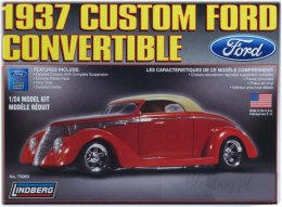 Model Plastikowy Do Sklejania Lindberg (USA) - 1937 Ford Custom Convertible