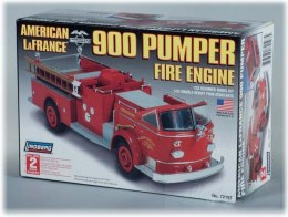 Model Plastikowy Do Sklejania Lindberg (USA) - LA France Fire Truck 900 Series Pumper