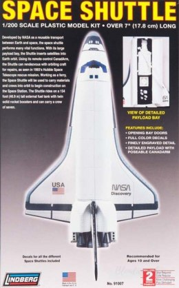 Model plastikowy Lindberg - Space Shuttle