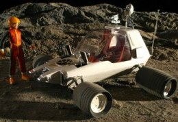 Model plastikowy - Pojazd Space 1999 The Alien (Moon Rover) - MPC