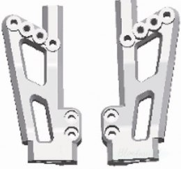 Wltoys 12423-0037 12428-0037 Left and Right Rear shockproof frame