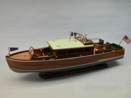 Łódź - Łódź podmiejska 1929 Chris Craft 38' Commuter Boat Kit 1:12 - DUMAS
