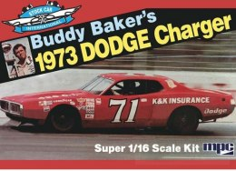 Model plastikowy - Samochód Buddy Baker 1973 Dodge Charger Stock Car - MPC