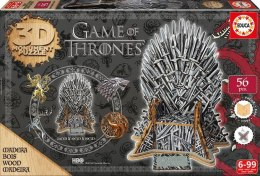 Puzzle 3D Gra o Tron 56 elementów Game of Thrones