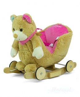 Milly Mally Miś Polly - Pink Bear